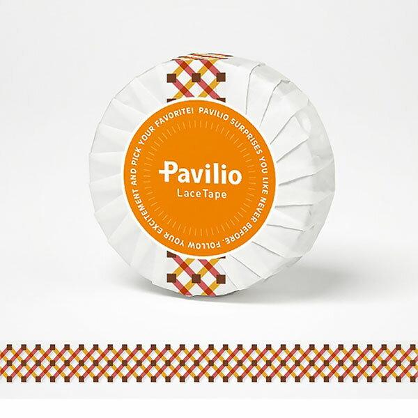 【日本Pavilio】風格膠帶Standard系列F-ST24MO井然排列(橘)捲