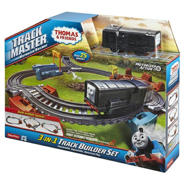 【湯瑪士小火車】競速過彎軌道遊戲組 CFF95