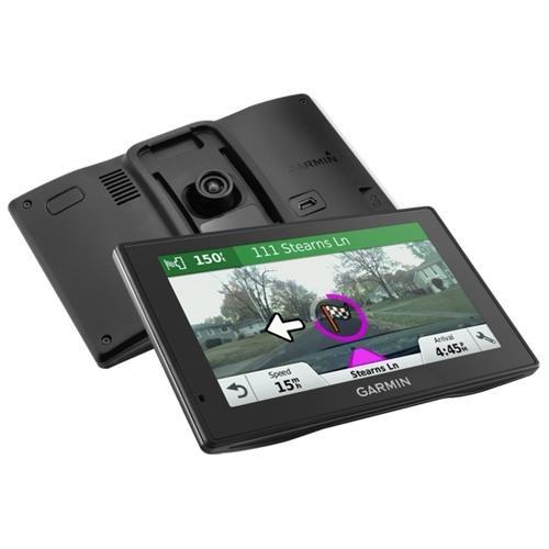 """Garmin DriveAssist 50LMT Automobile Portable GPS Navigator - Portable, Mountable - 5"""" - Dash Cam - microSD - Lane Assist, Junction View, Voice Command - Bluetooth - 0.50 Hour - Preloaded Maps - Lifetime Map Updates - Lifetime Traffic Updates - WQVGA - 480"""