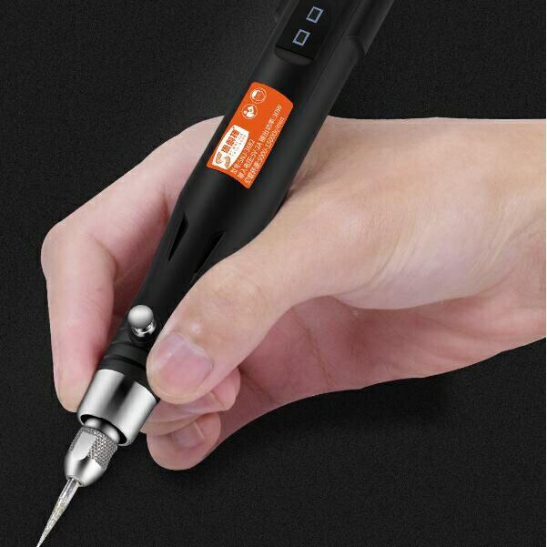 【快速出貨】電磨機小型手持家用玉石雕刻機電動文玩核雕工具打磨拋光機刻字筆創時代3C 交換禮物 送禮