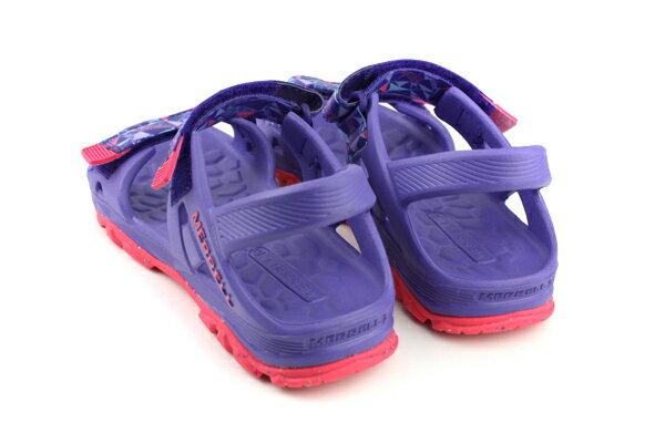MERRELL 涼鞋 紫色 大童 no055 1