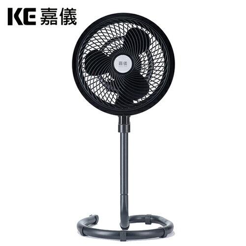KE嘉儀|12吋旋風循環扇時尚黑KEF5582【三井3C】