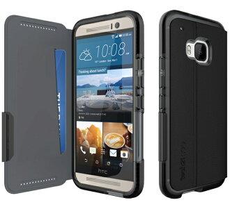 Tech21 英國超衝擊 Evo Wallet HTC One M9 / S9 防撞軟質保護皮套