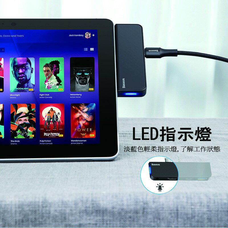Type-C+Audio公轉RJ45 / HD4K拓展塢 多功能HUB for Surface Go 2