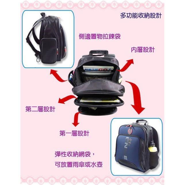 【送原廠餐袋】 【UnMe】 台灣製 造型人體工學兒童後背書包 四色 3077