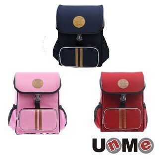 【送筆袋】【UnMe】台灣製造 護脊書包 小學生後背包 學生書包 3093