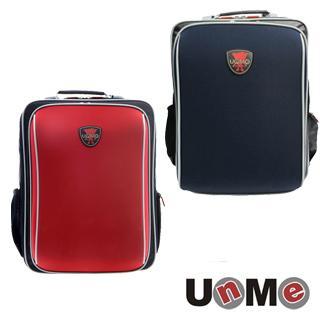 【送UNME餐袋】【免運】【UNME】 台灣製 後背書包 超輕透氣 兒童書包 中高年級適用 3088