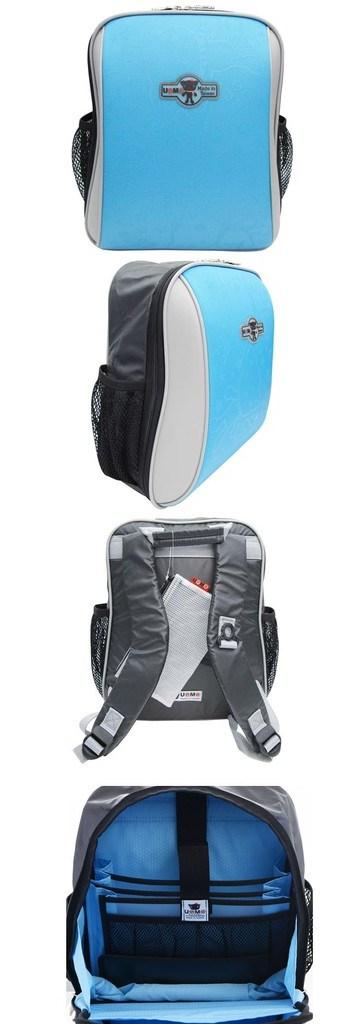 【送UNME餐袋】 【UnMe】 台灣製 硬挺耐用 質感印圖 多功能後背包兒童書包 (3223)
