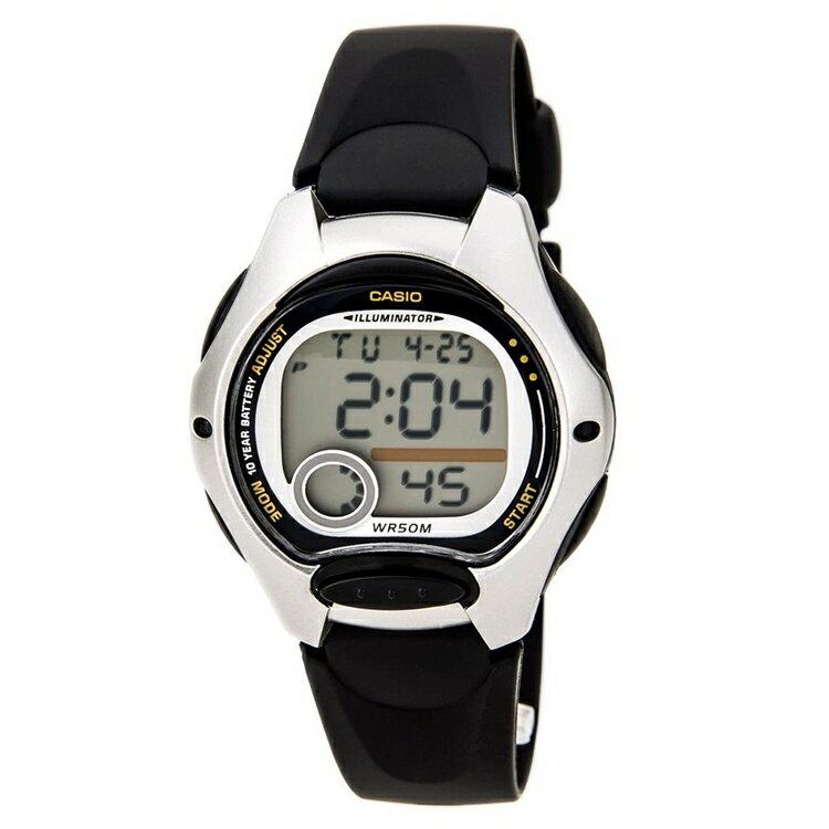 【CASIO 卡西歐】10年電池防水兒童手錶LW-200 LW-200-1A 台灣卡西歐保固一年 附原廠保固卡
