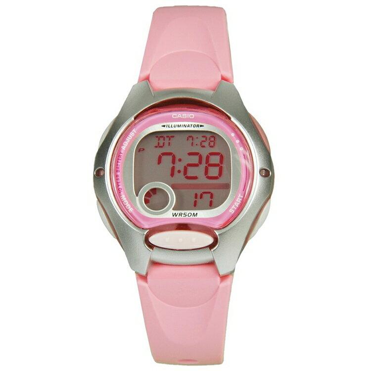【CASIO】 卡西歐可愛電子錶/兒童錶LW-200 LW-200-4B防水/照明/台灣卡西歐公司貨保固一年附原廠保固卡