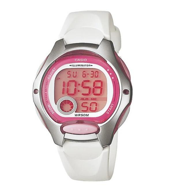 【CASIO】卡西歐10年電池防水兒童錶LW-200 LW-200-7A 台灣卡西歐保固一年 附原廠保固卡 0