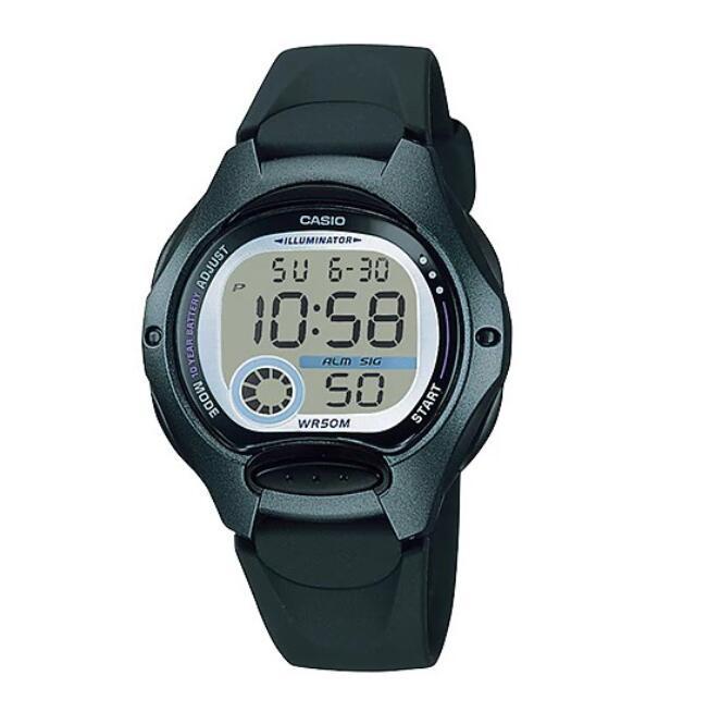 【卡西歐 CASIO】 10年電池 電子錶 黑色 35mm 兒童手錶 LW-200-1BVDF 附原廠保固卡 保固一年