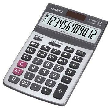 AX-120ST卡西歐CASIO商用12位數計算機 附保證卡 上班族的最愛