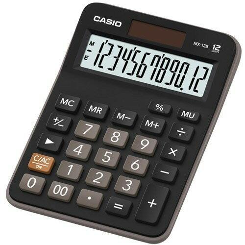 CASIO卡西歐MX-12B商務系列12位數計算機 可開發票 稅外加