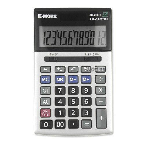 【E-MORE】 JS-20GT 國家考試專用計算機(商用型第一類) 12位數