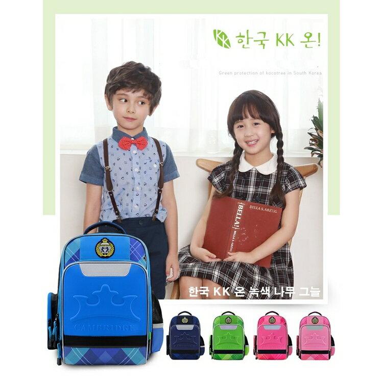 【超人氣護脊書包】【現貨】小學生書包 標準護脊書包 英國劍橋書包 無味道 韓式兒童書包 CP值高 五色