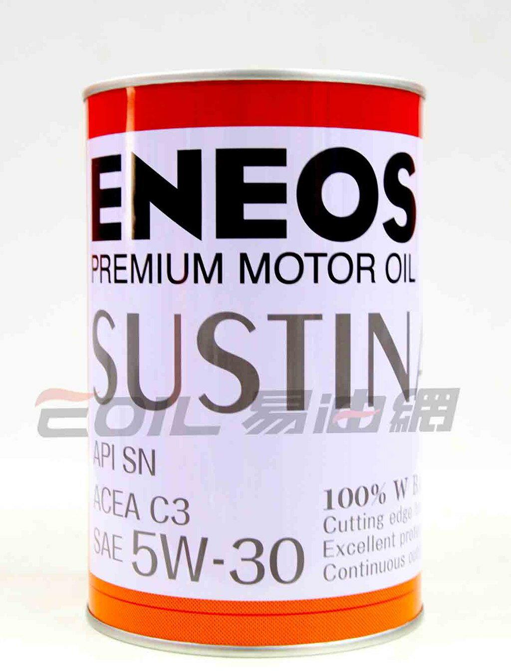 ENEOS JX SUSTINA 5W30 新日本石油 全合成機油
