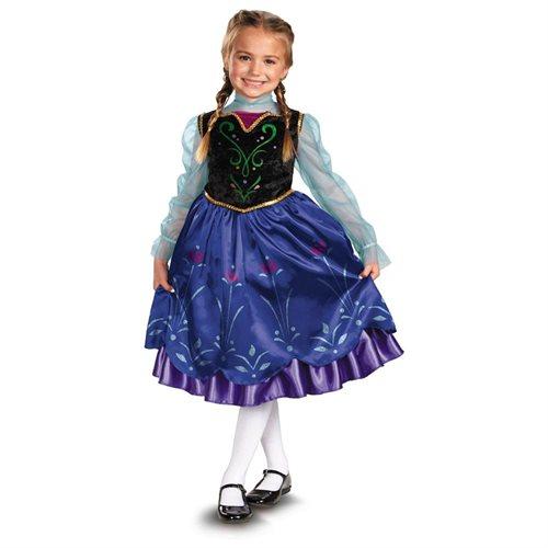Disney Frozen Deluxe Anna Toddler / Child Costume 0
