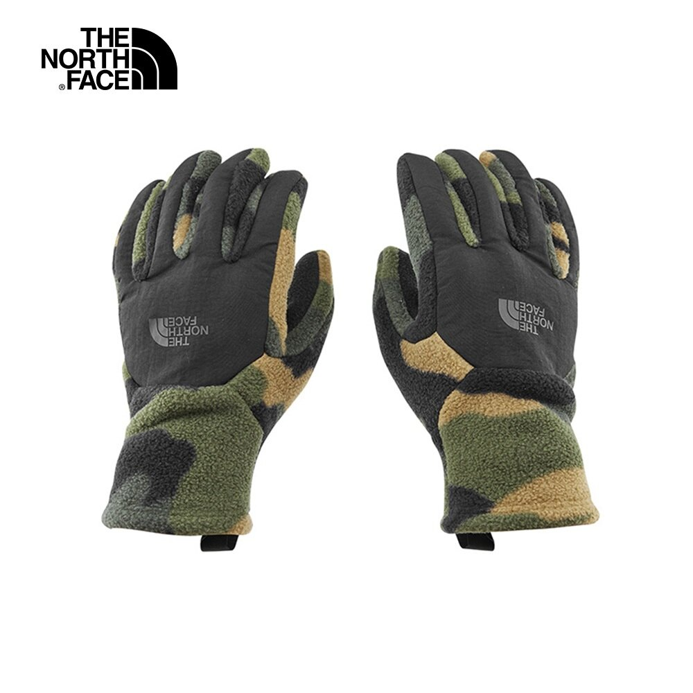 [ THE NORTH FACE ] 觸屏迷彩刷毛保暖手套 8折特價 / NF0A3KP5FQ9
