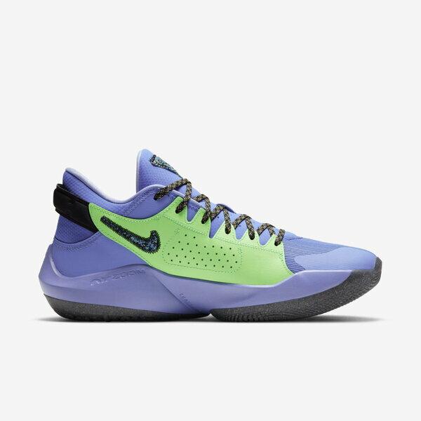 Nike Zoom Freak 2 [CK5825-500] 男鞋 籃球鞋 運動 休閒 緩震 包覆 貼合 柔軟 紫 黑