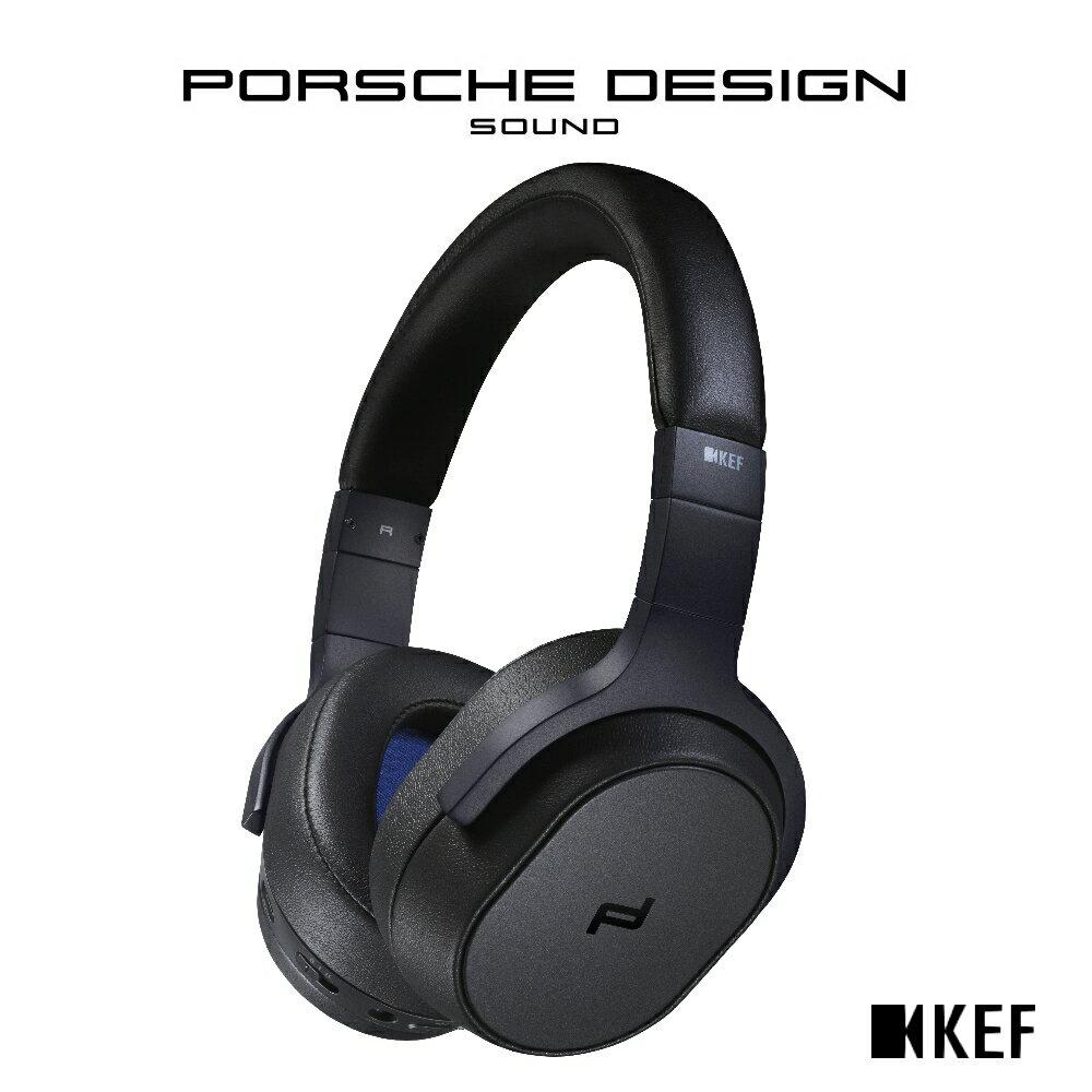 ◤官網登錄 限時贈送 造型隨身碟◢ ★Porsche Design聯名款★ 英國 KEF 聯名款 SPACE ONE Wireless【純黑色】主動式無線抗噪耳罩式耳機