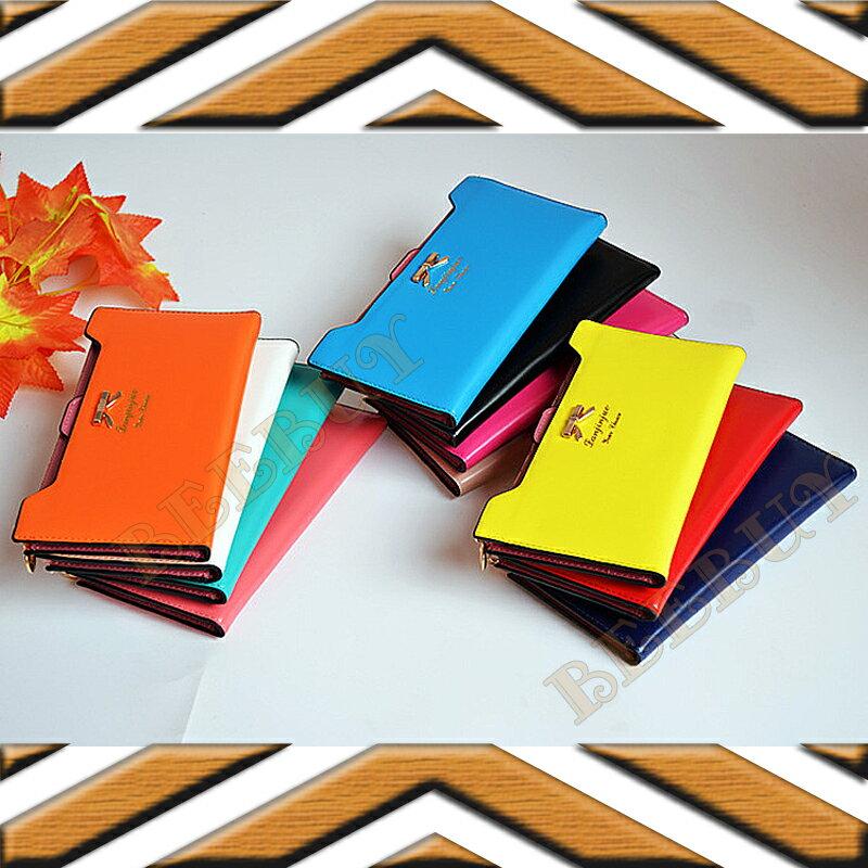 韓系女用金屬蝴蝶(((長夾))) 中夾 短夾 零錢包 卡包 韓、日系 可愛 時尚 輕便 超薄多色可選 拉鍊 蝴蝶吊飾 大空間 卡片