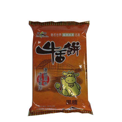 宜蘭台灣鄉親牛舌餅-黑糖口味170g【愛買】