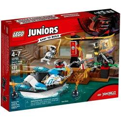 【LEGO 樂高積木】Juniors系列-冰忍的忍者船追擊 LT-10755