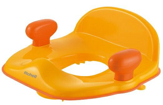 Richell利其爾 - Pottis 椅子型便器輔助便座 (橘) 2