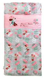 【VIVIBABY】Disney米妮花園幼兒睡袋(粉)