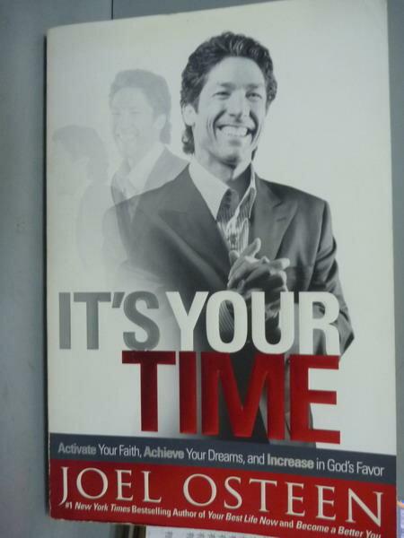 ~書寶 書T3/心靈成長_QFN~It #x27 s Your Time_Joel Ost