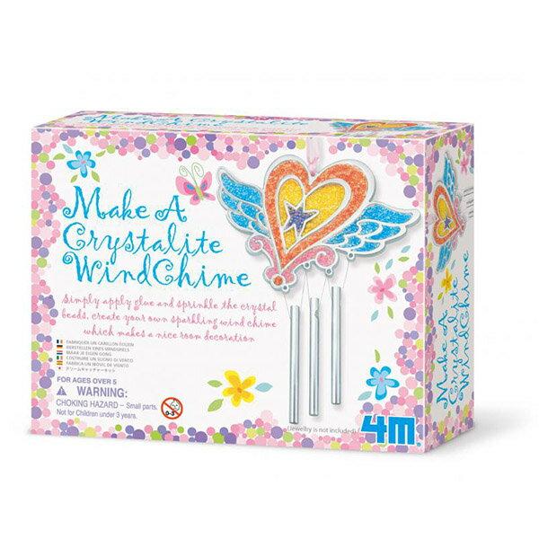 【 4M美勞創作 】水晶珠珠風鈴 Make A Crystalite Wind Chime