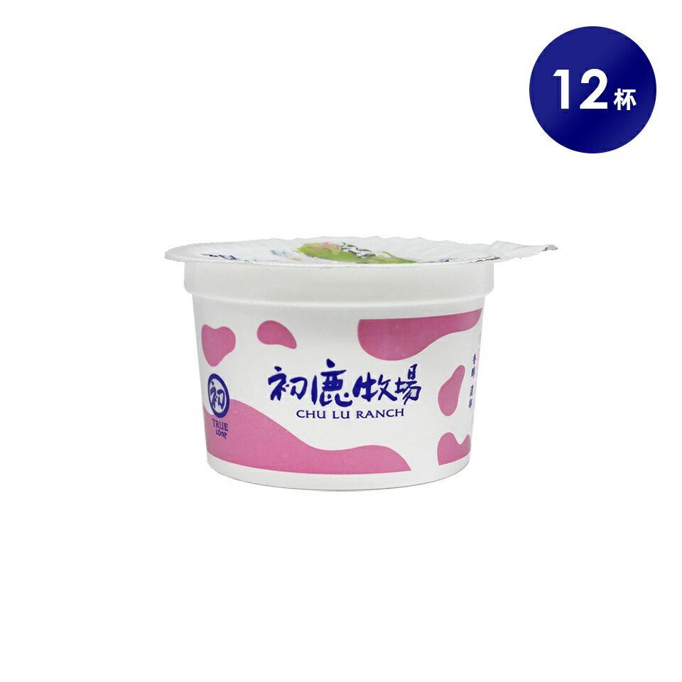 初鹿牧場 草莓優格 12杯 酸酸甜甜【台東專區】含運組