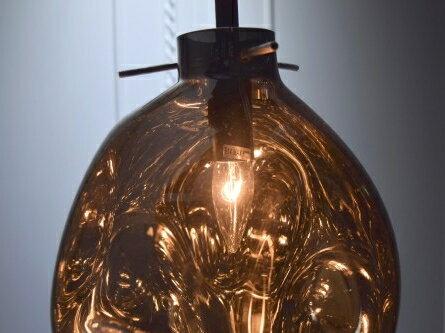 手工吹製電鍍銀玻璃吊燈-BNL00115 2