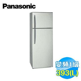 國際 Panasonic 393公升雙門變頻冰箱 NR-B406TV