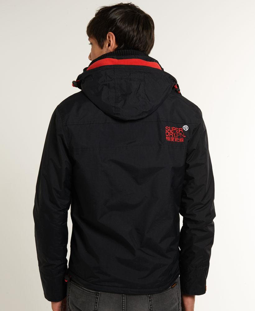 [男款] 英國代購 極度乾燥 Superdry Arctic 男士風衣戶外休閒 外套夾克 防水 防風 保暖 黑色/紅色 4
