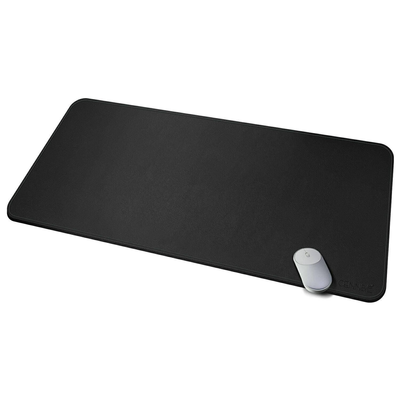 Cennbie Desk Pad Protecter 39 3 X 19 6 Pu Leather Mat Blotters Organizer