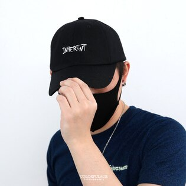 老帽刺繡INHEREN素色帽子柒彩年代【NH290】棒球帽