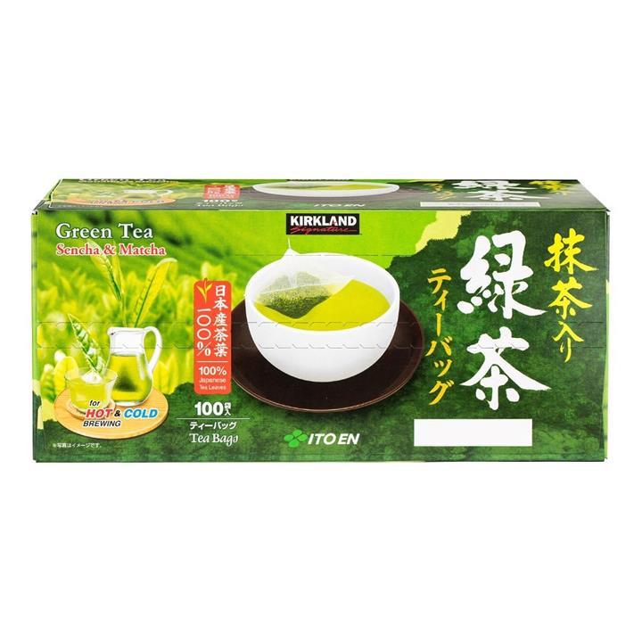 Kirkland Signature 科克蘭 日本綠茶包 1.5公克 X 100入/組
