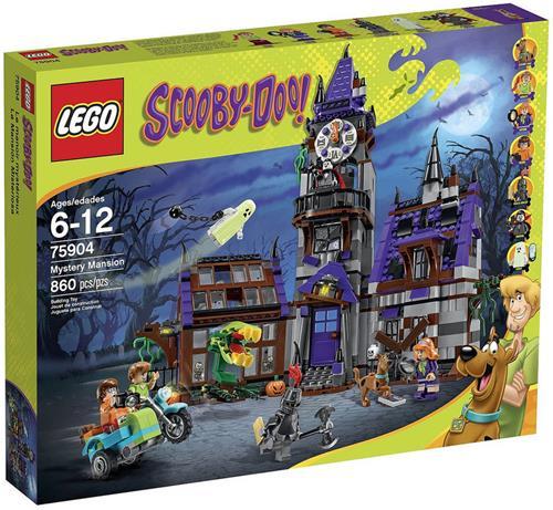 樂高積木 75904 史酷比系列 詭異洋房 ( LEGO Scooby(Doo )