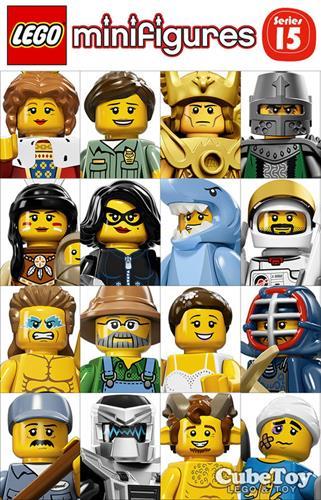 樂高積木 71011 人偶包 15代 齊全 16隻 ( LEGO Minifigures )
