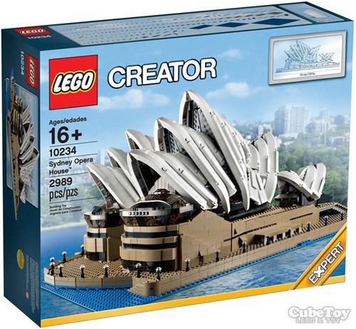 樂高積木 10234 CREATOR 雪梨歌劇院 ( LEGO Sydney Opera Hous)