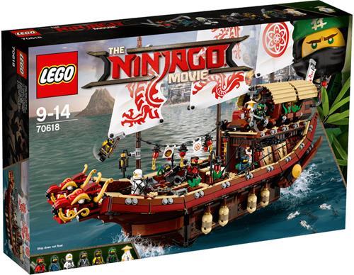 樂高積木 70618 旋風忍者 忍者終極使命號 ( LEGO NINJAGO MOVIE )