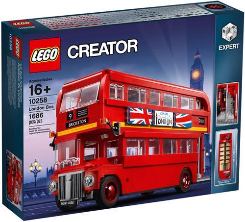 樂高積木 10258 創意大師 倫敦 雙層 巴士 ( LEGO CREATOR London Bus )