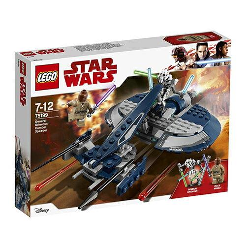 LEGO 樂高 Star Wars: The Clone Wars General Grievous' Combat Speeder 75199 (157 Piece)