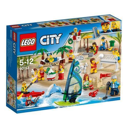 LEGO 樂高 City Town People Pack – Fun At the Beach 60153  169 Piece