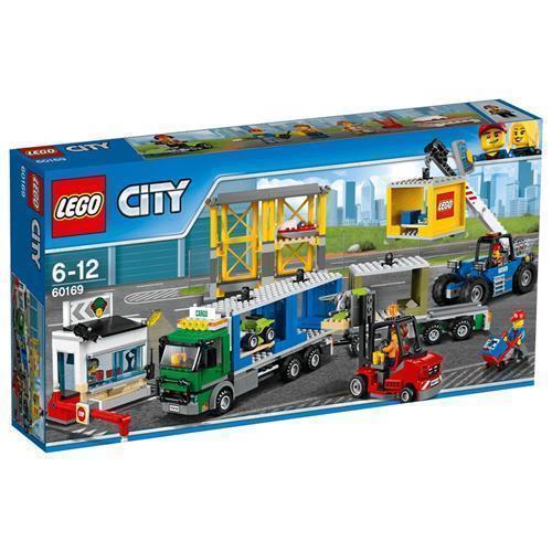 LEGO 樂高 City Town Cargo Terminal 60169  740 Piece
