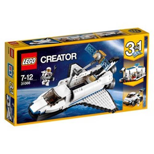 LEGO 樂高 Creator Space Shuttle Explorer 31066 (285 Piece)