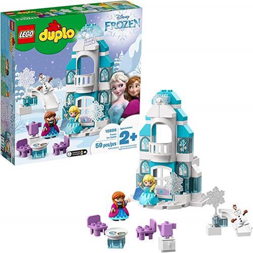 LEGO 樂高  DUPLO Disney Frozen Ice Castle 10899 Building Blocks, New 2019 (59 Pieces)