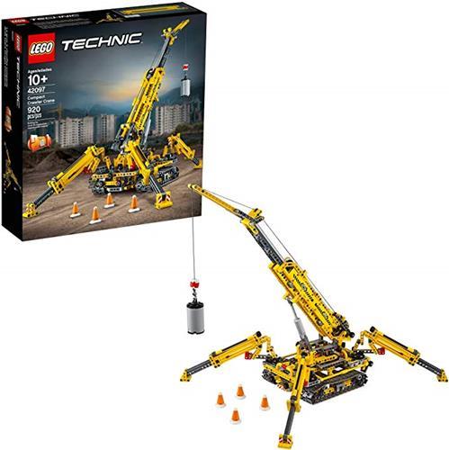 LEGO 樂高  Technic Compact Crawler Crane 42097 Building Kit, New 2019 (920 Pieces)